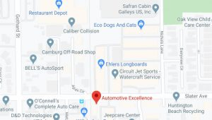 Automotive Excellence 7522 Slater Ave Suite 100, Huntington Beach CA 92647